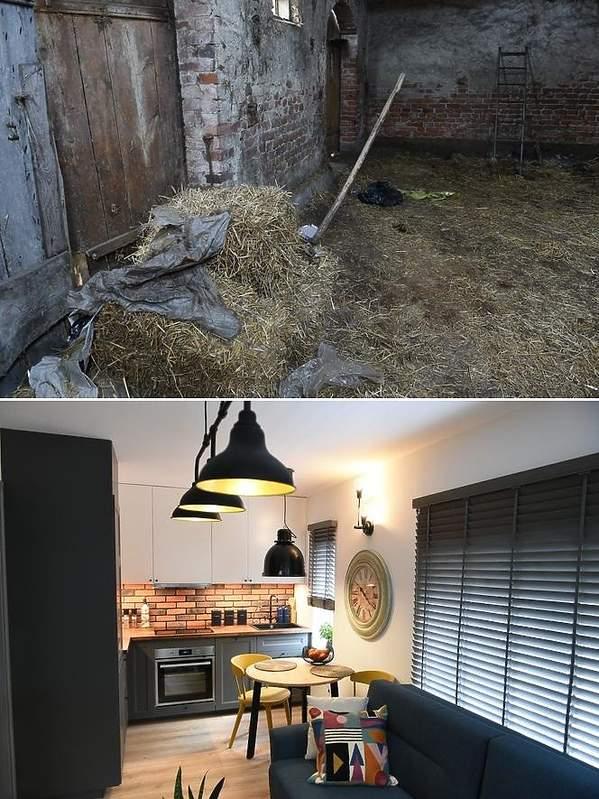 Dom w stodole. Nasz nowy dom