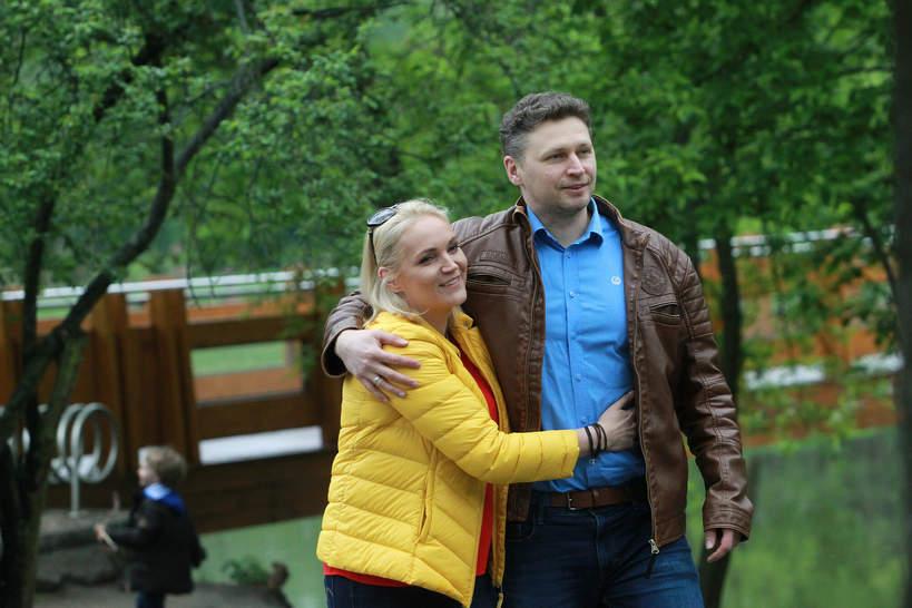 Dominika Chorosińska, Michał Chorosiński, dzieci