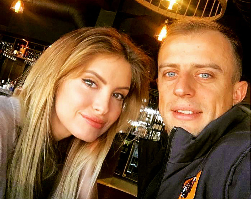 Dominika Grosicka i Kamil Grosicki