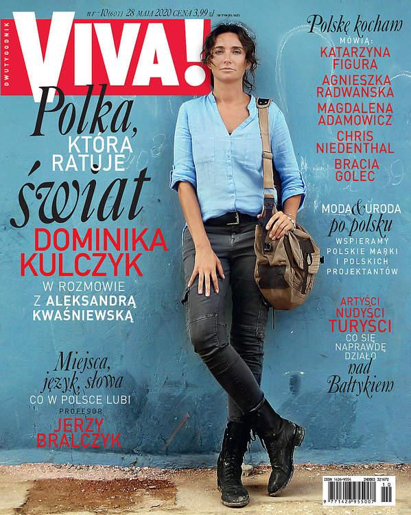 Dominika Kulczyk, Viva! 10/2020 okładka