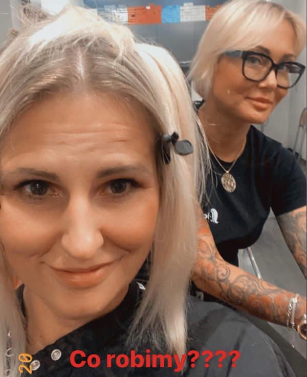 Dominika Tajner zmienila fryzure 2020