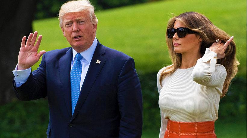 Donald i Melania Trump MT