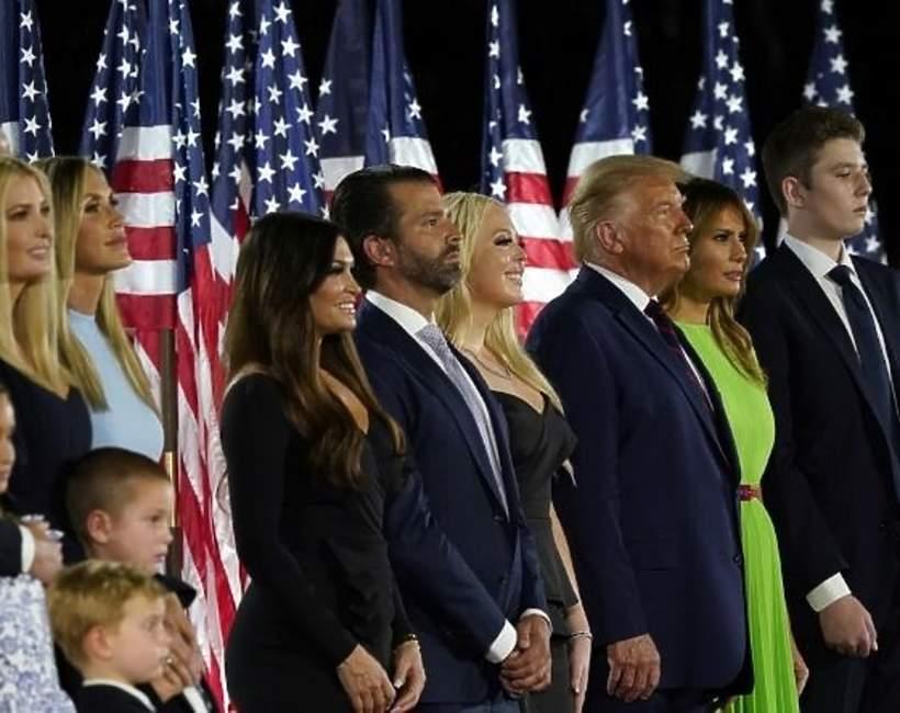 Donald Trump, Donald Trump Jr., Ivanka Trump, Tiffany Trump, Barron Trump
