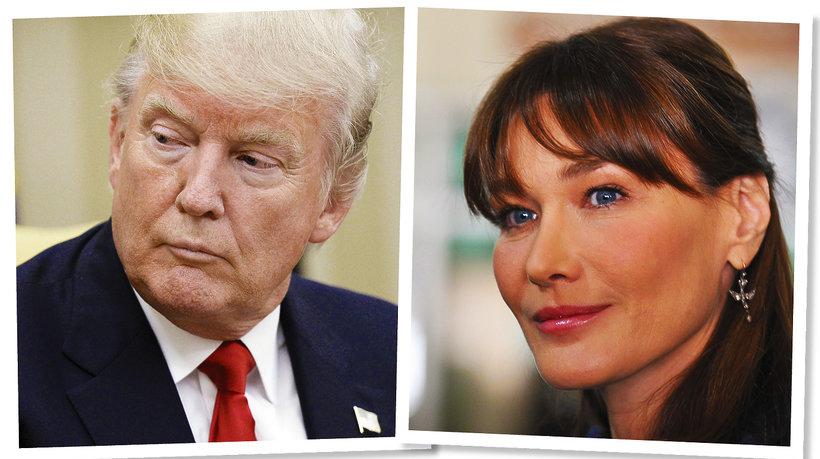 Donald Trump i Carla Bruni MT