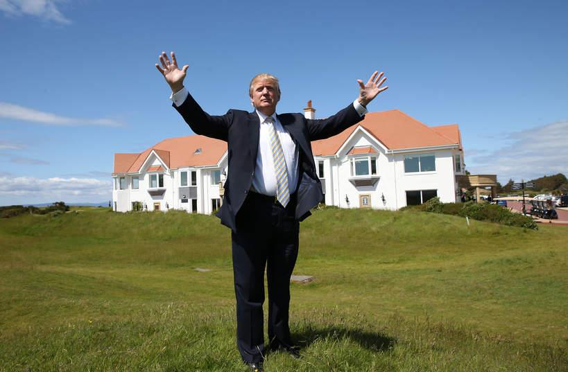 Donald Trump majątek
