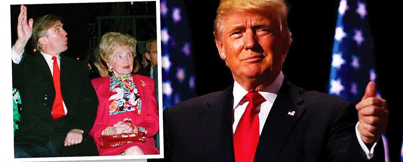 Donald Trump, Mary Trump, matka Donalda Trumpa