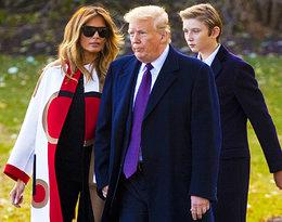 Dawno niewidziany syn Donalda Trumpa jest już wzrostu ojca!