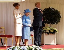 Donald Trump, Melania Trump, Elżbieta II