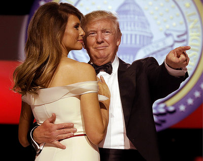 Donald Trump, Melania Trump, Trumpowie
