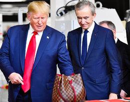 Donald Trump pojawił się na otwarciu fabryki Louis Vuitton!