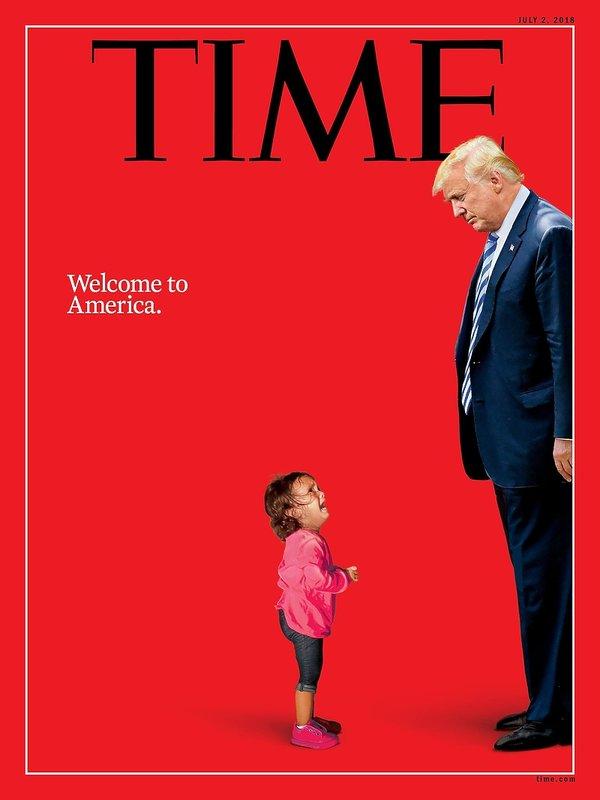 Donald Trump, okładka magazynu Time