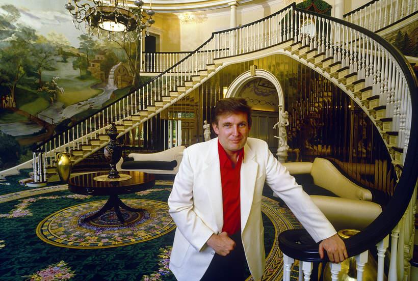 Donald Trump posiadłość