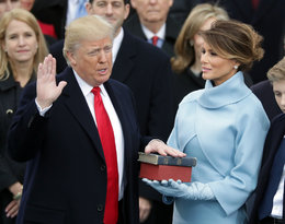 Donald Trump  - przysięga