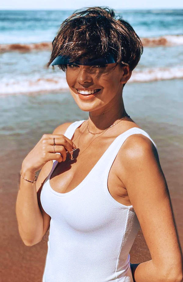 Dorota Gardias na wakacjach