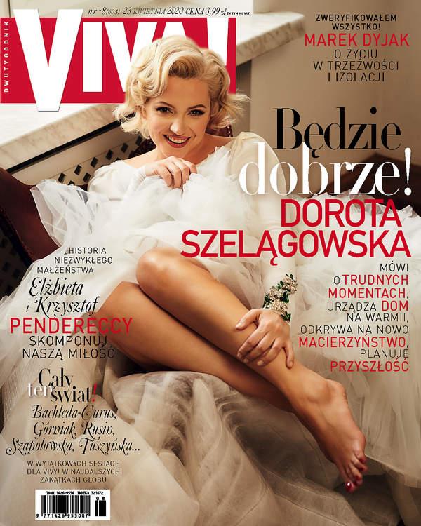 Dorota Szelągowska, Viva! 8/2020, okładka
