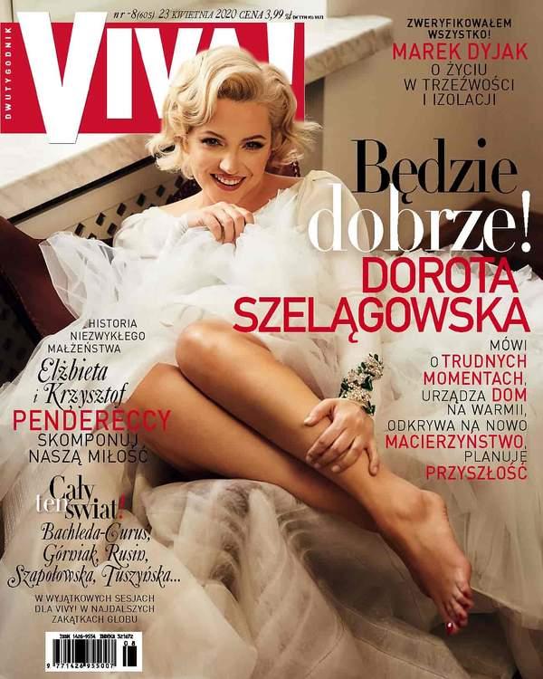 Dorota Szelągowska, VIVA! okładka