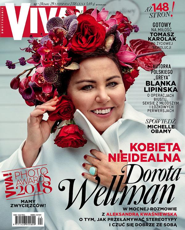 Dorota Wellman, Viva! 24/2018, OKŁADKA