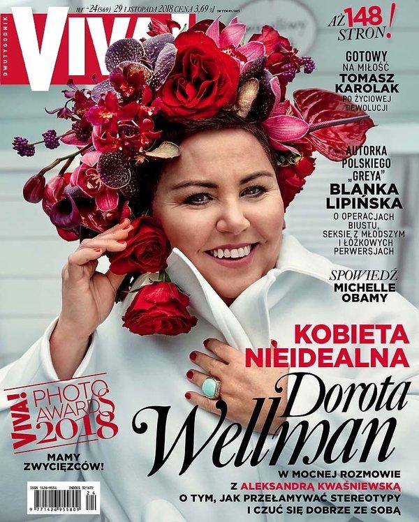 Dorota Wellman, Viva! 24/2018, OKŁADKA lekka