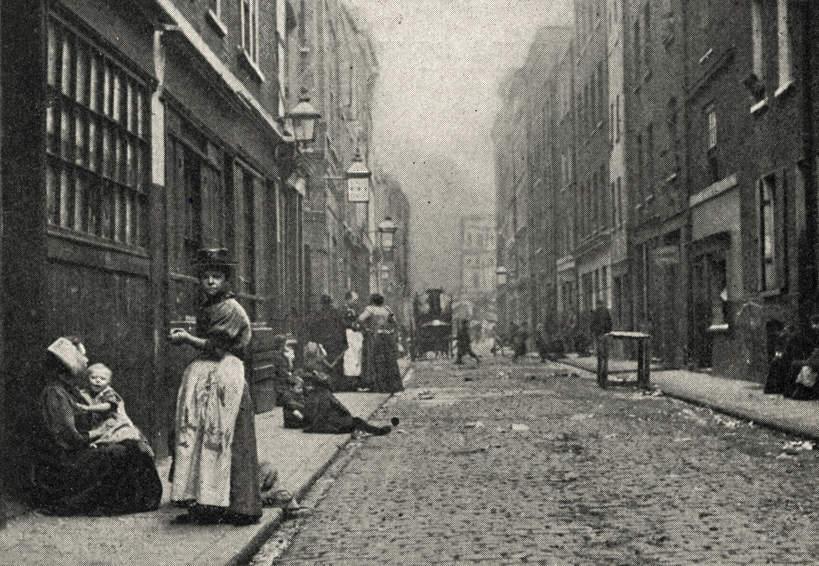 Dorset Street, miejsce morderstwa Mary Jane Kelly