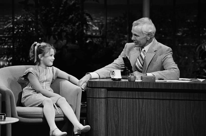 Drew Barrymore jako dziecko