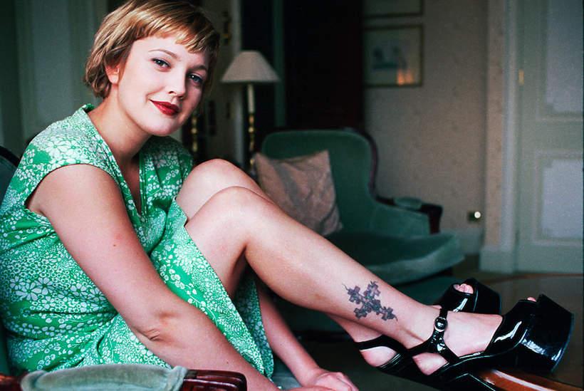 Drew Barrymore jako nastolatka