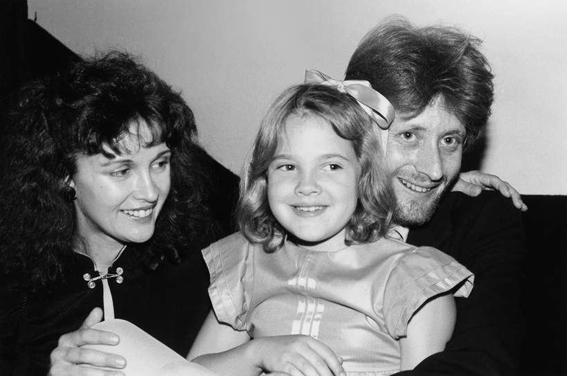 Drew Barrymore rodzice