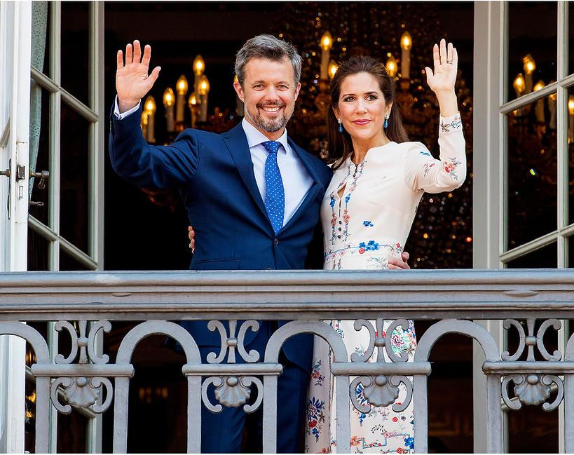 duński dwór królewski, Dania, książę Fryderyk, księżna Maria