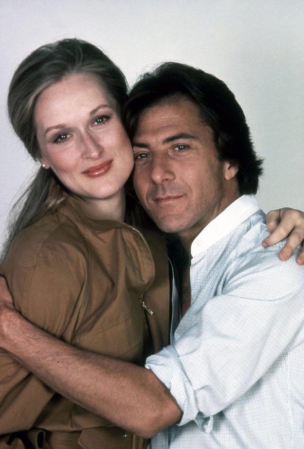 Dustin Hoffman i Meryl Streep w 1979 roku