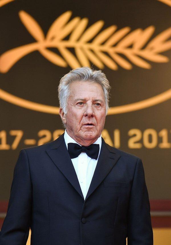 Dustin Hoffman w 2017 roku