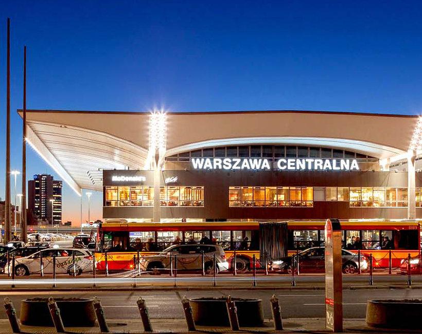 Dworzec Centralny, Warszawa
