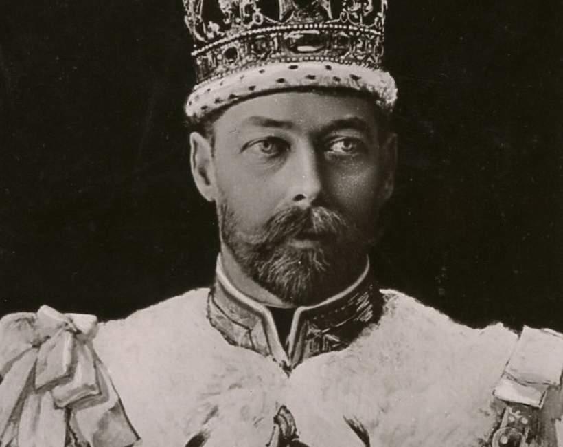 Dziadek królowej Elżbiety II, Jerzy V