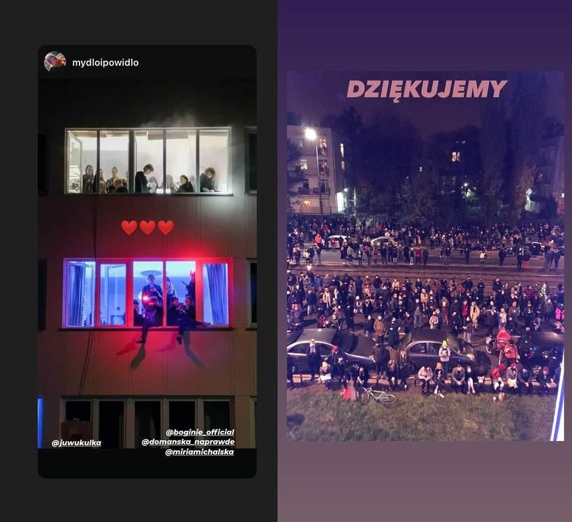 Dziady na Mickiewicza, protest artystów