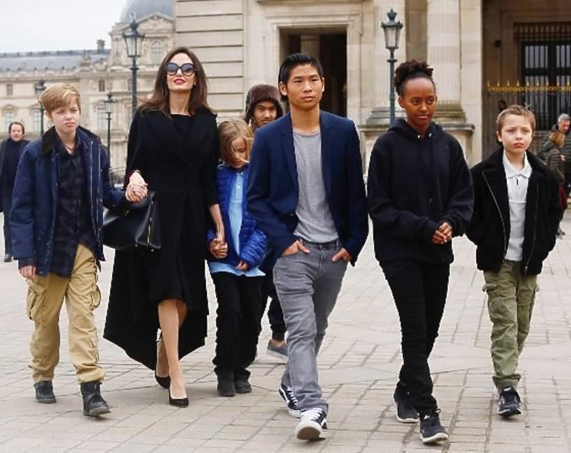Dzieci Angeliny Jolie