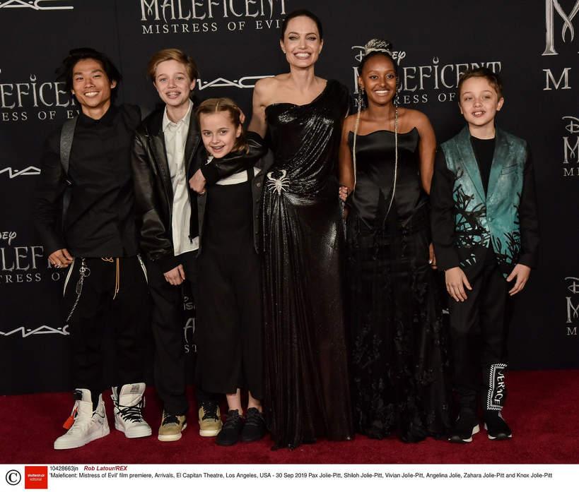 Dzieci Angeliny Jolie i Brada Pitta, 2019 rok