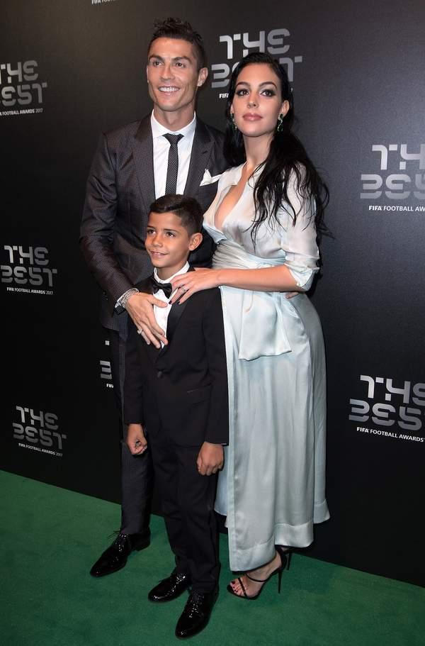 Dzieci Cristiano Ronaldo i Georginy Rodriguez