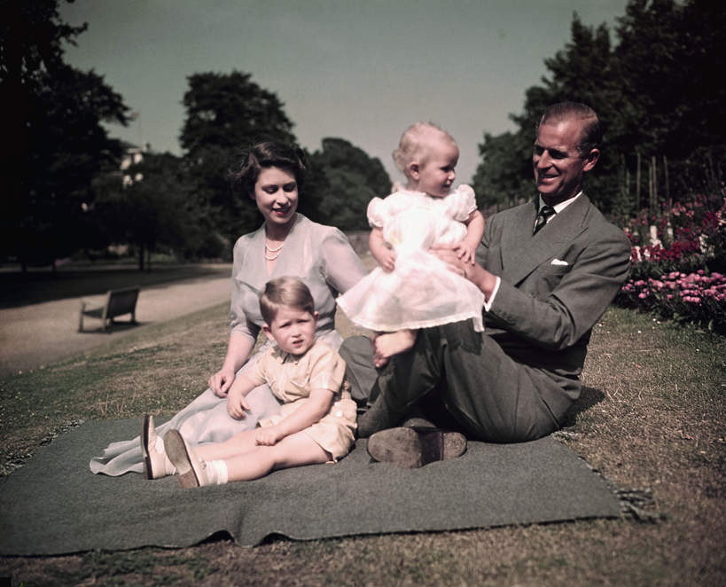 Dzieci Elżbiety II i księcia Filipa