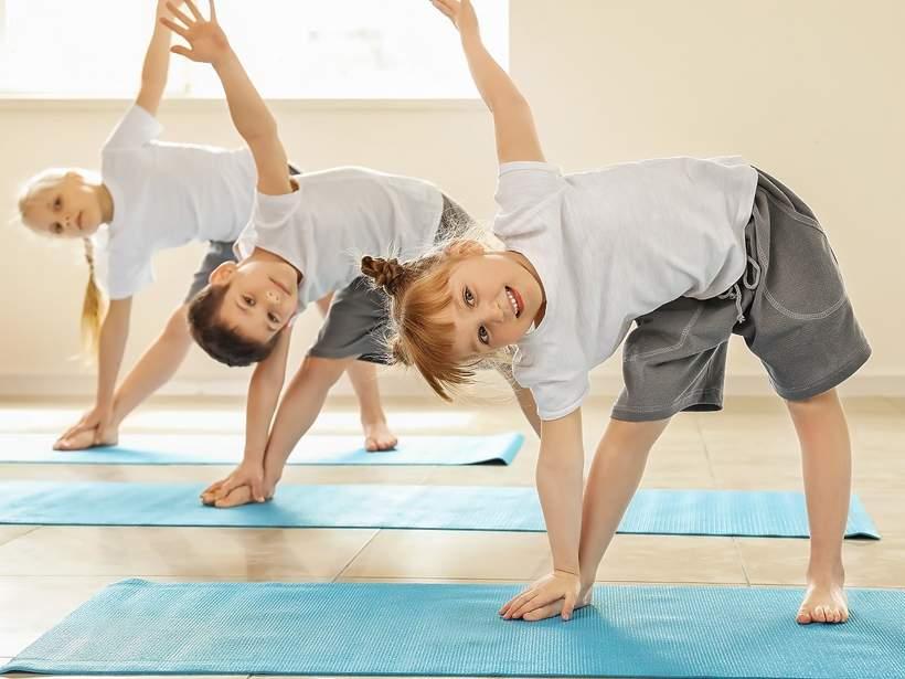 dzieci gimnastyka