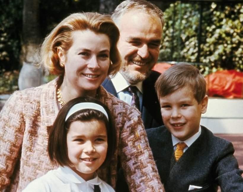 Dzieci Grace księżnej Monako