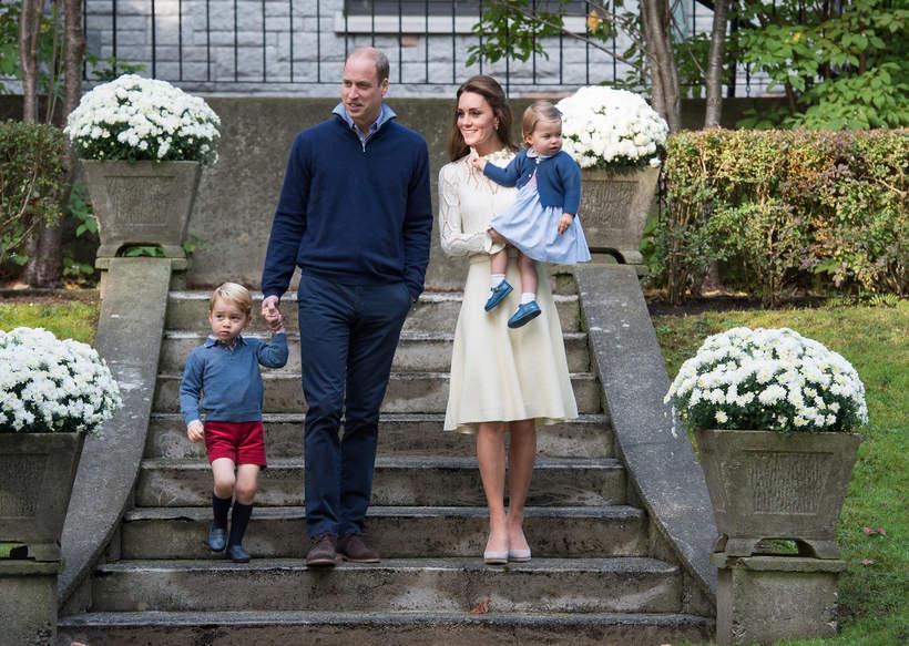 Dzieci Kate i Williama: George, Charlotte