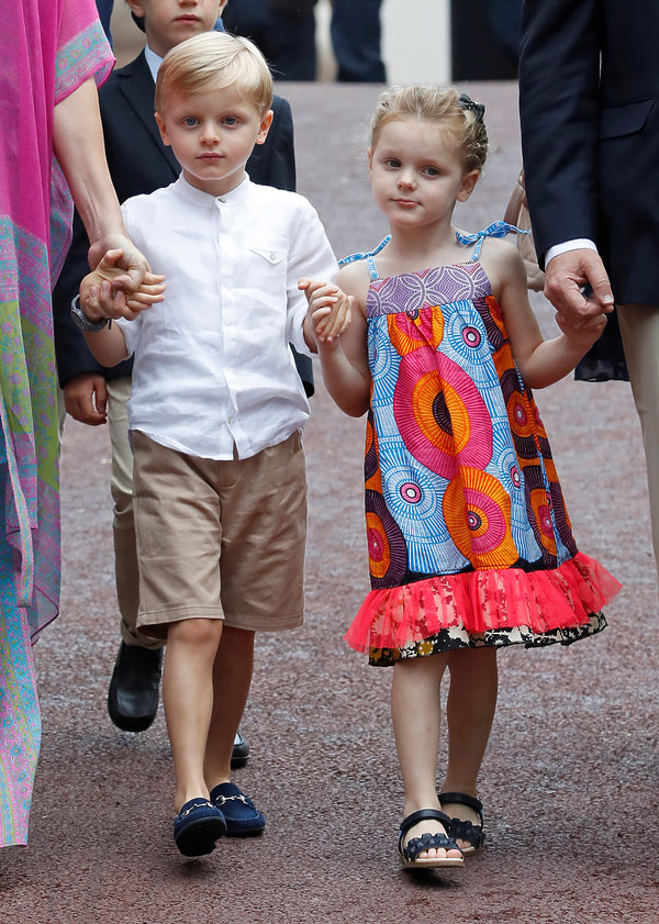 Dzieci księżnej Charlene: księżniczka Gabrielle, książęJacques