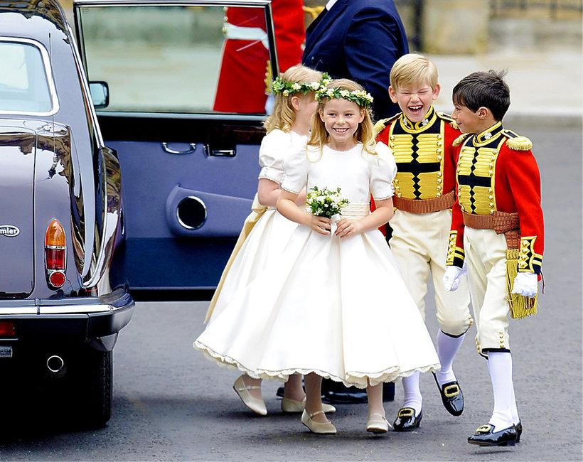 Dzieci na ślubie księcia Harry'ego i Meghan Markle