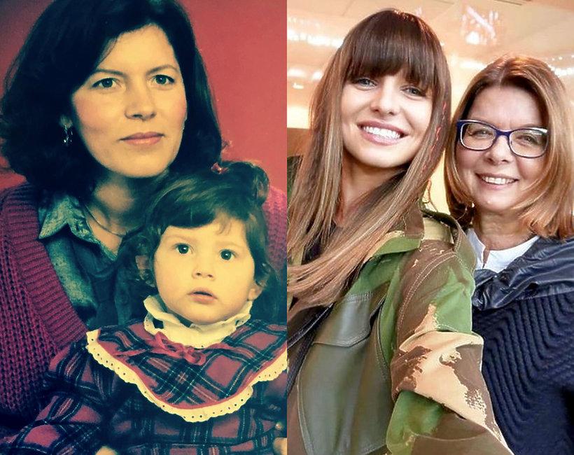 Dzień Matki, Weronika Rosati z mamą, Anna Lewandowska z mamą