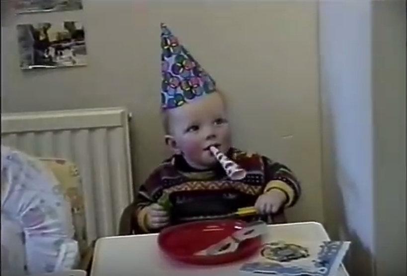 Ed Sheeran jako dziecko