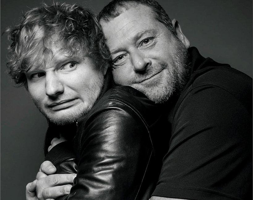Ed Sheeran, ochroniarz