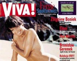 Edyta Górniak topless na okładce Vivy!