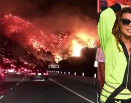 Olbrzymi pożar trawi Los Angeles! Czy życiu Edyty Górniak i Allanka zagraża niebezpieczeństwo?