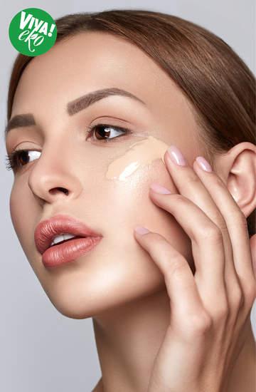 ekologiczny makijaż podkłady naturalne
