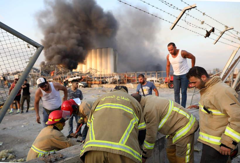 Eksplozja, Bejrut