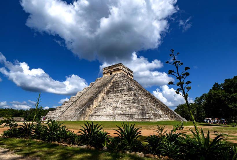 El Castillo, Chichen Itza, cywilizacja Majów, Majowie'