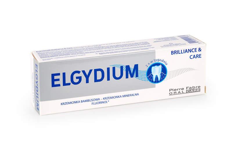 ELGYDIUM Brilliance & Care pasta do zębów przeciw przebarwieniom, 30 ml